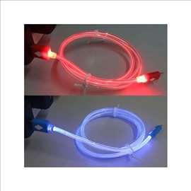 USB na micro svetleći za Android ili tablet