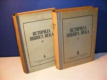 Istorija novoga veka I-II, autori Jefimov Tarle