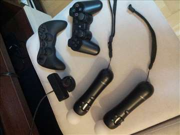 Sony PlayStation 3, dva joystick move