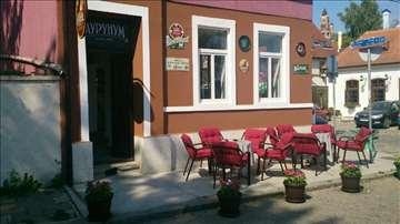 Konpletna bašta za kafić (stolovi, stolice)
