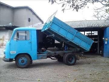 Prevoz kamionom kiperom zapremine 3.5t