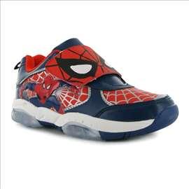Spiderman svetleće patike vel. 21,5, novo