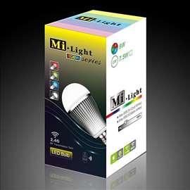 LED Bulb E27 9W Warm RGBW