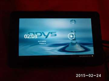 Odys Fusion nemački tablet , odličan , gumirano ku