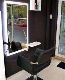 Ogledalo za frizera+ stolica