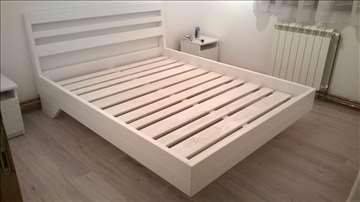 Bračni kreveti, od hrastovine i bukve