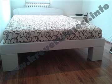 Krevet Apolon u beloj boji 160x200