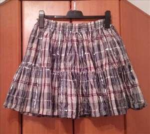 Siva suknja vel. M