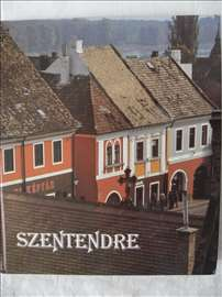 Knjiga:Szentendre(Sentandreja),1987.,98 str.,engl.