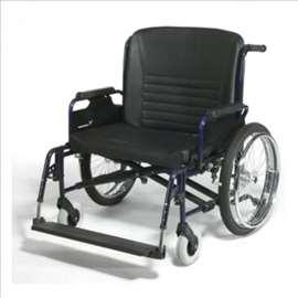 Invalidska kolica XXL za osobe 130 - 200 kg