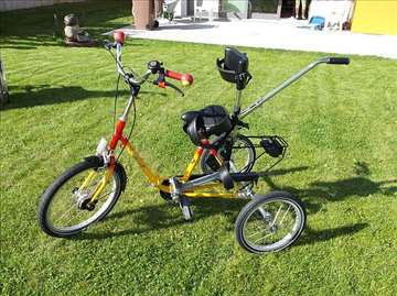 Tricikl Haverich za decu ometenu u razvoju,stender