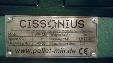 Peletirka (pelet presa) Cissonius 3kW, nemačka