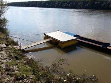 pontonski most-splav 3x2 metra