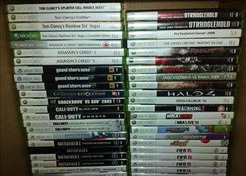 Xbox 360 originali 30 kom.