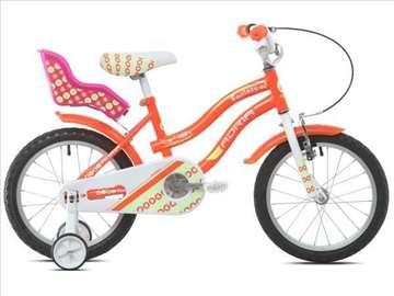 """Adria 1107 bicikl 16"""" oranž Ht (912126-16)"""