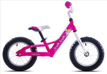 "Capriolo gur-gur bicikl 12"" pink 12"" Ht"