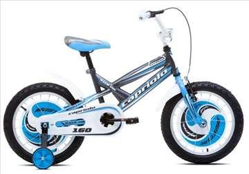 """Capriolo mustang bicikl 16"""" crno-plavo-beli"""