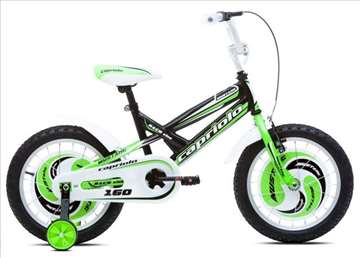 "Capriolo mustang bicikl 16"" crno-zeleno-beli"