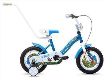 "Capriolo star bicikl 12"" plavo-beli"