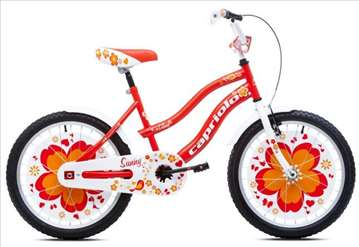 "Capriolo sunny bicikl 20"" belo-crveno-oranž Ht"
