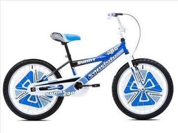 """Capriolo sunny bicikl 20"""" belo-plavo-crni"""