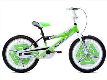 "Capriolo sunny bicikl 20"" belo-zeleno-crni Ht"