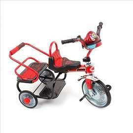 Tricikl dečiji glory bike, crveni