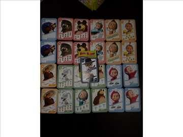Maša i meda kartice za pametne glavice
