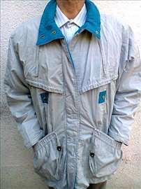 Muška jakna svetlosive boje