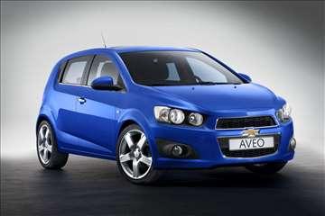 Chevrolet Aveo - Rent A Car - Martello Plus