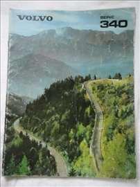 Prospekt Volvo 340, A 4, nemački, 25 str.