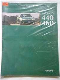 Prospekt Volvo 440/460, A 4, holandski, 43  str.
