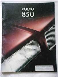 Prospekt Volvo 850, A 4, nemački, 47 str