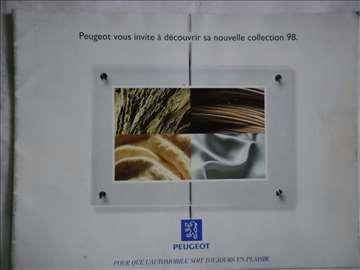 Prospekt program Peugeot,1998.,A4,28 str,francuski