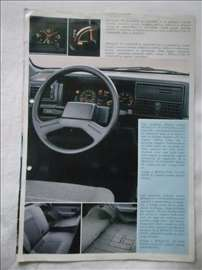 Prospekt Renault 19, srpski, A4, 4 str,nekompletan