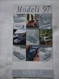 Prospekt Renault program 1997, srpski, smanjeni A4