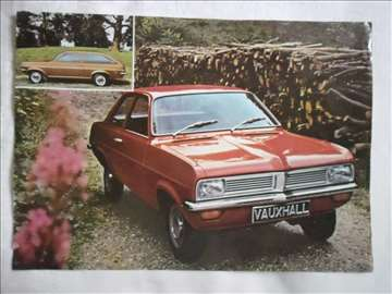 Prospekt Vauxhall, srpski, A 4, 1 str.