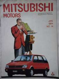 Magazin Mitsubishi,jan.1984., A4,26 str. engleski,