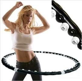 Magnetic Hula Hoop - Kardio, Akupresura