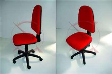 Daktilo stolica, akcija