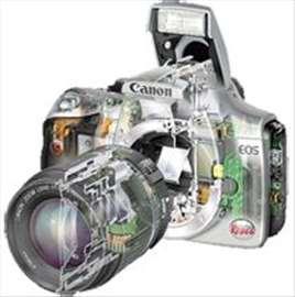 Servis i popravka foto aparata i foto opreme
