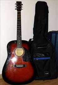 Gitara, torba i komponente