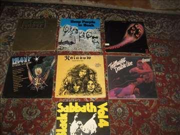 10 hevimetal LP ploča