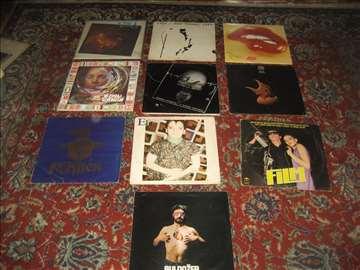 10 LP ploča ju rock muzike