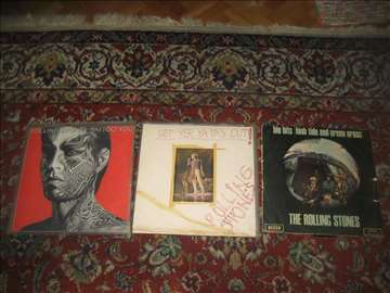 3 LP ploče Rolingstones