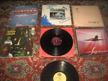 7 LP ploča ju rock muzike