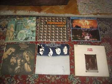 7 LP ploča rock muzike