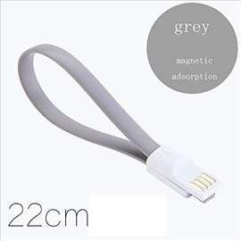 iPhone 5/6  kabl 22cm USB 8pin Lightning