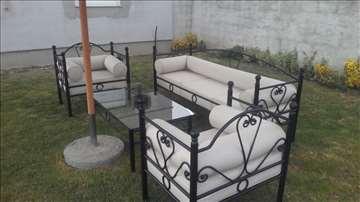 Garniture od kovanog gvožđa