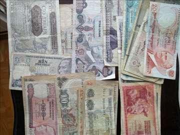 Stari papirni i metalni novac